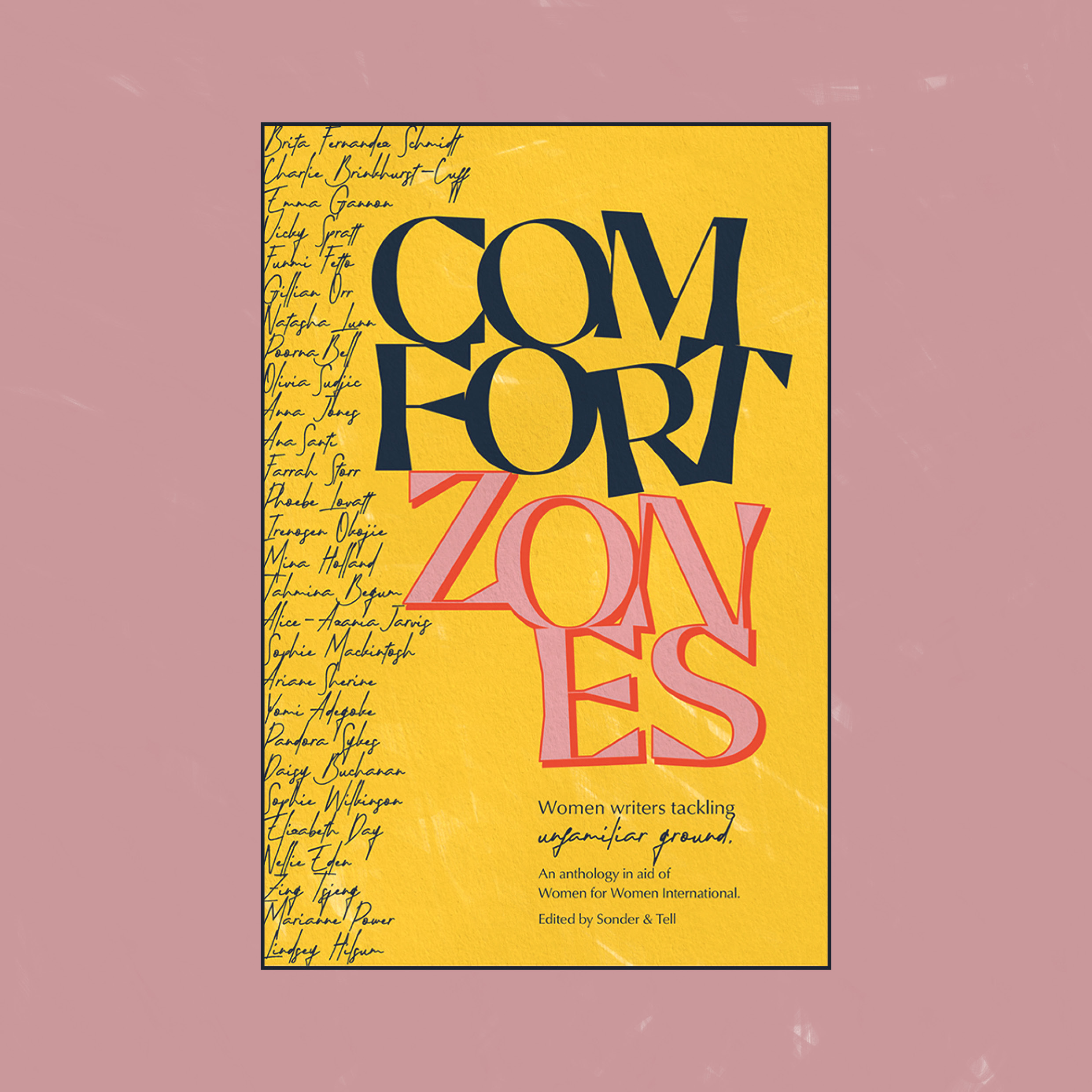 Comfort Zones is published  - Over Christmas I interviewed my mother; we talked about her childhood growing up in a psychiatric hospital in the 1950s, becoming an actress in '60s London, and her late-life career appearing at horror conventions. It was a strange experience, a kind of exercise in social history that started personal but ended up becoming a broader conversation about our generations' different experiences and changing attitudes towards everything from contraception to mental health. Now our conversation has been published in this beautiful book to raise money for Women for Women International. There is also writing from Olivia Sudjic, Farrah Storr, Elizabeth Day, Zing Tsjing, Emma Gannon, Victoria Spratt, Natasha Lunn, Poorna Bell and more. 100% of the £9.99 price goes to Women for Women International. You can order one here.