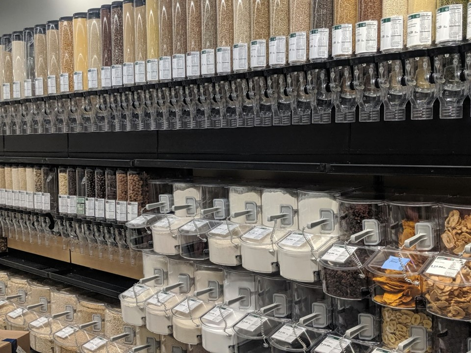 beautiful new bulk section