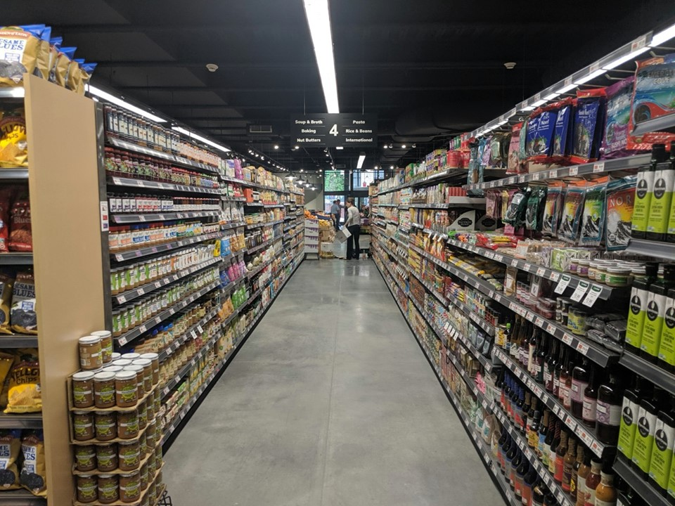 longer, wider aisles offer up over 1200 new items
