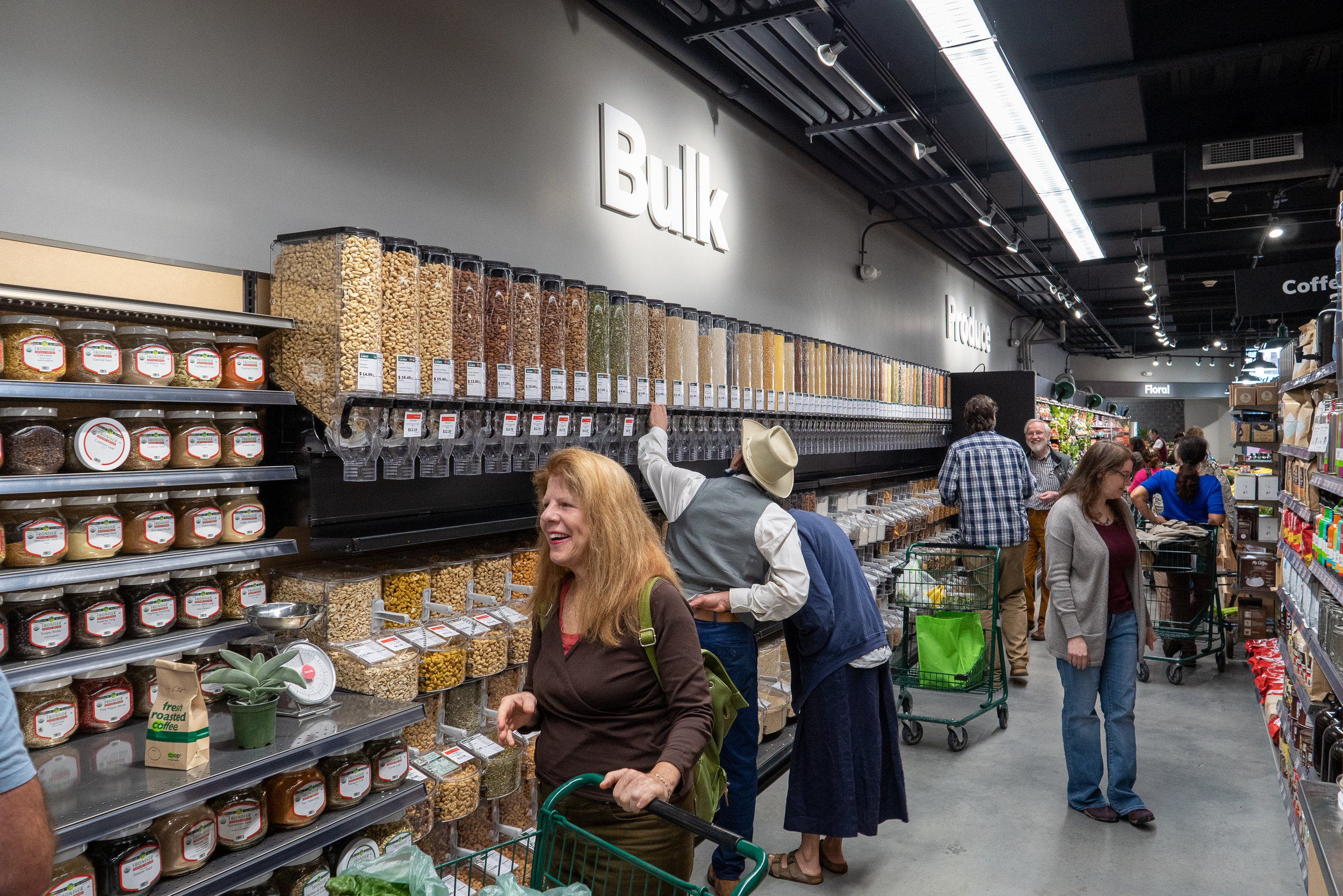 our very first customers explore bulk