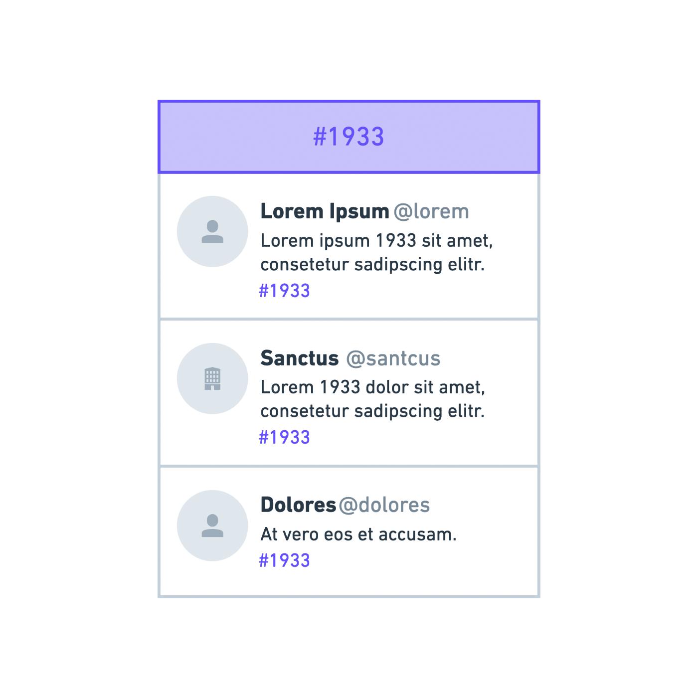 TWEETS ZU EINEM THEMA - (kombinirte Stories zu einem Hashtag)