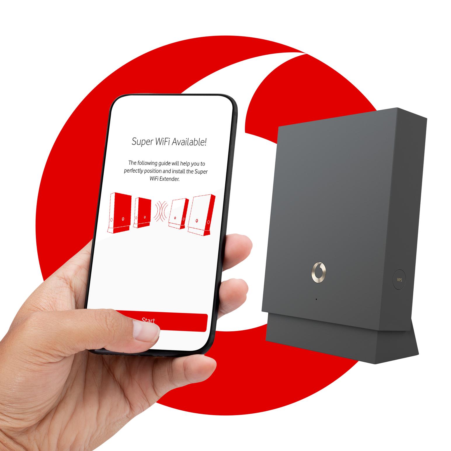 Vodafone Extender - Comming soon…