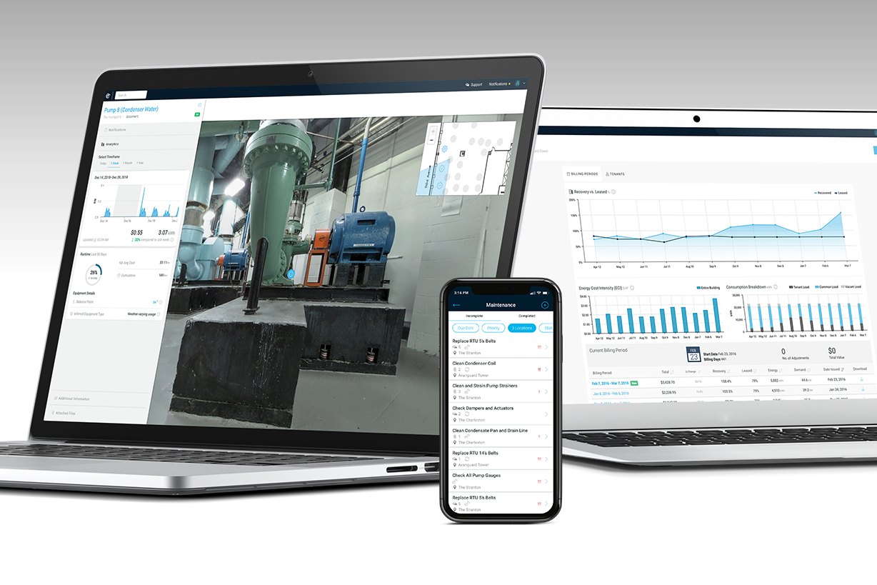 The Enertiv Platform - A comprehensive building monitoring system to manage and streamline every workflow related to building operations.