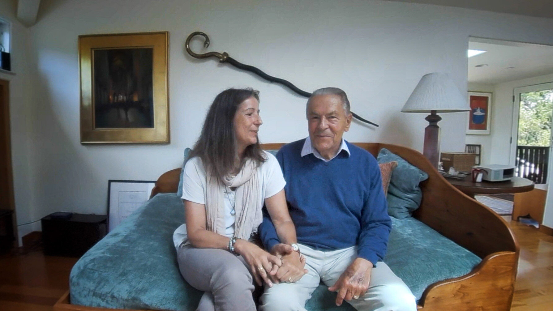 Stan and Brigitte Grof - On Stan's stroke  (17:55)