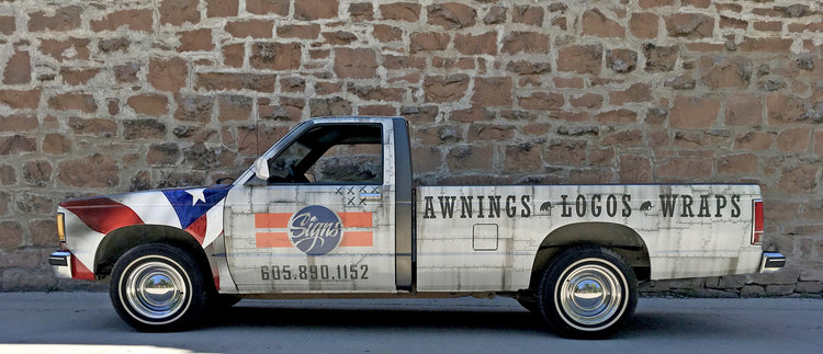 AWARD WINNING VEHICLE WRAPS!    3rd PLACE,   Best Sign-shop Vehicle of 2017!
