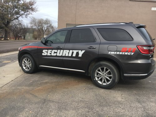 Security Vehicle Wraps