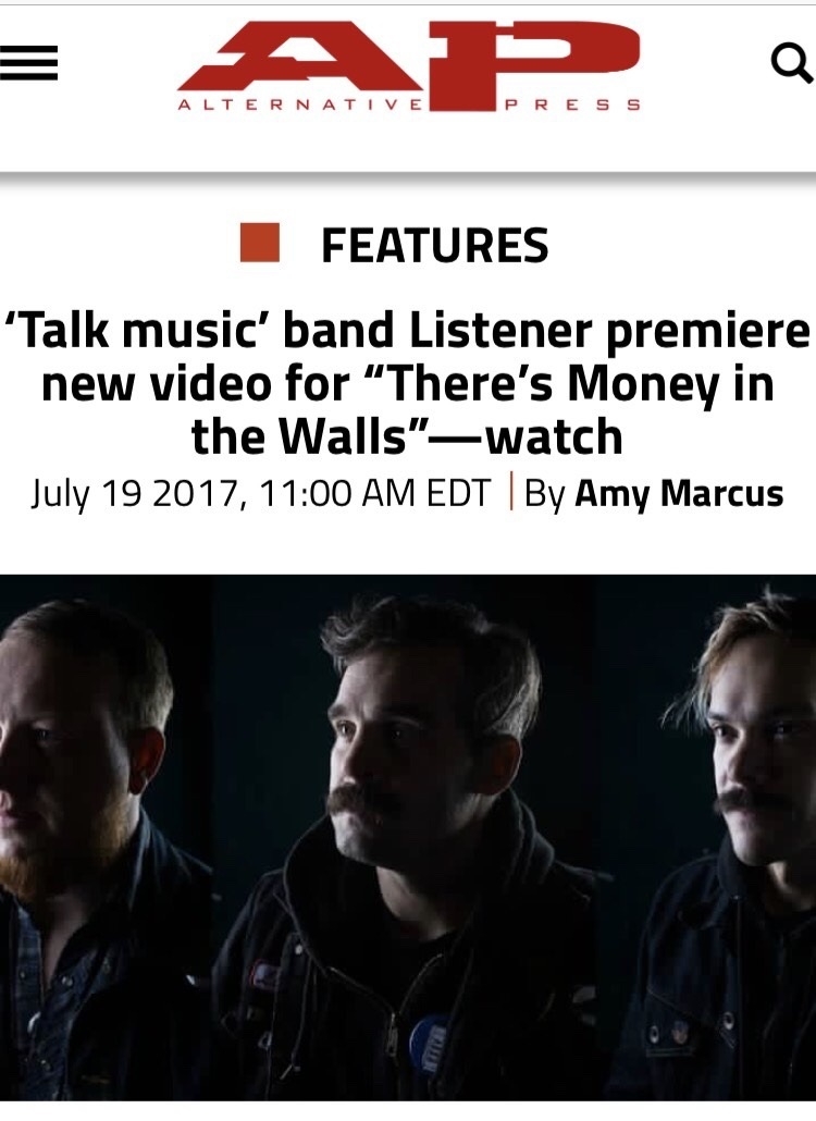 Alternative Press is premiering our new video!  http://www.altpress.com/features/entry/listener_theres_money_in_the_walls_premiere