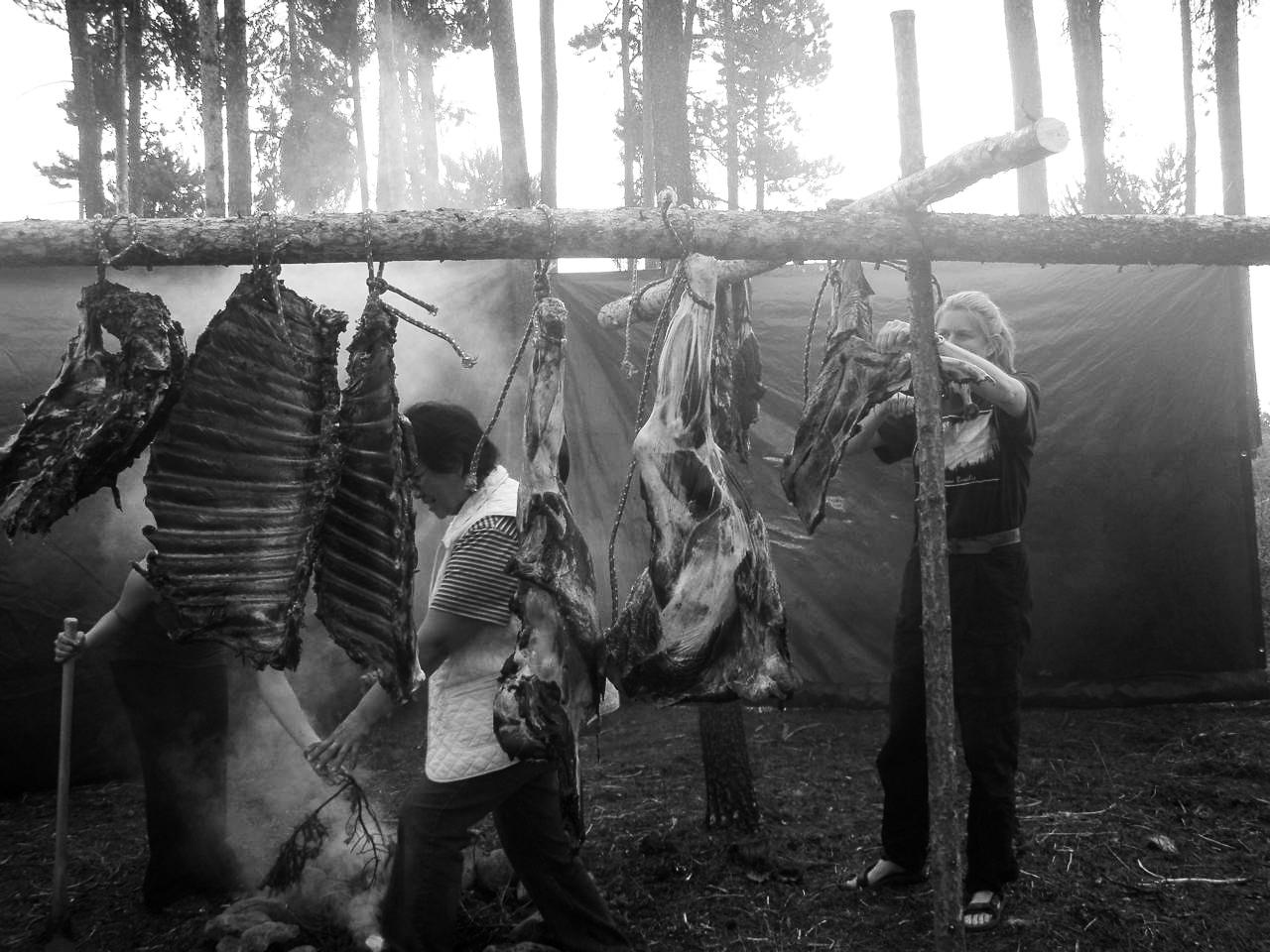 Shari skinning meat.jpg