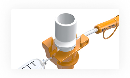 A backup for the backup - The twist-lock mechanism is designed to minimize unintended removal of the 15mm connector, while allowing easy removal of the connector when intended.