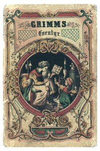 Forside til P. Chr. Asbjørnsens oversettelse av Brødrene Grimms Eventyr.