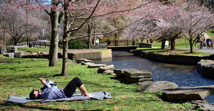 Relax - Four beautiful parks - Booth, Yantacaw, Memorial and Kingsland line the length of Third River providing green space and spring colors for the town. Several other parks also dot the landscape of the town.