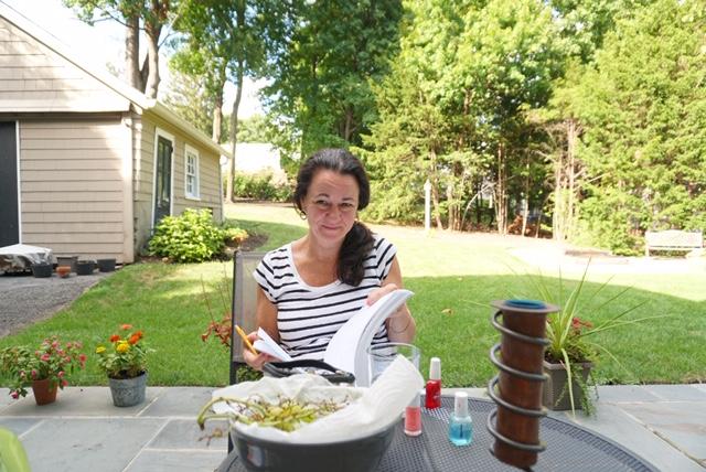 Enjoying the yard -