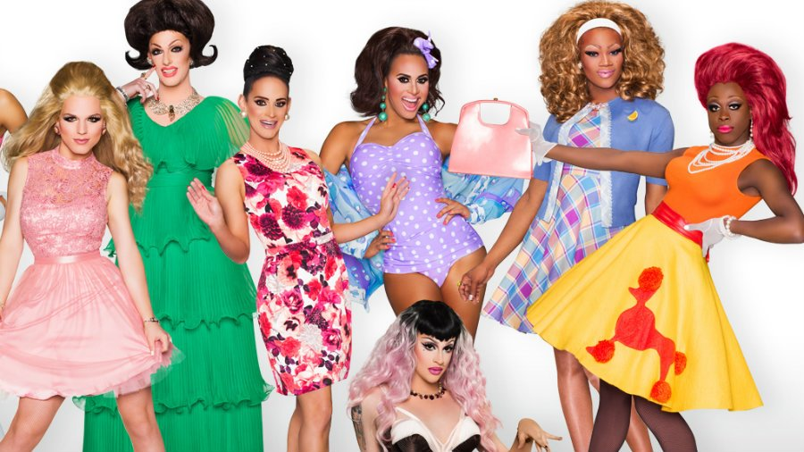 season 8 cast of  rupaul's drag race