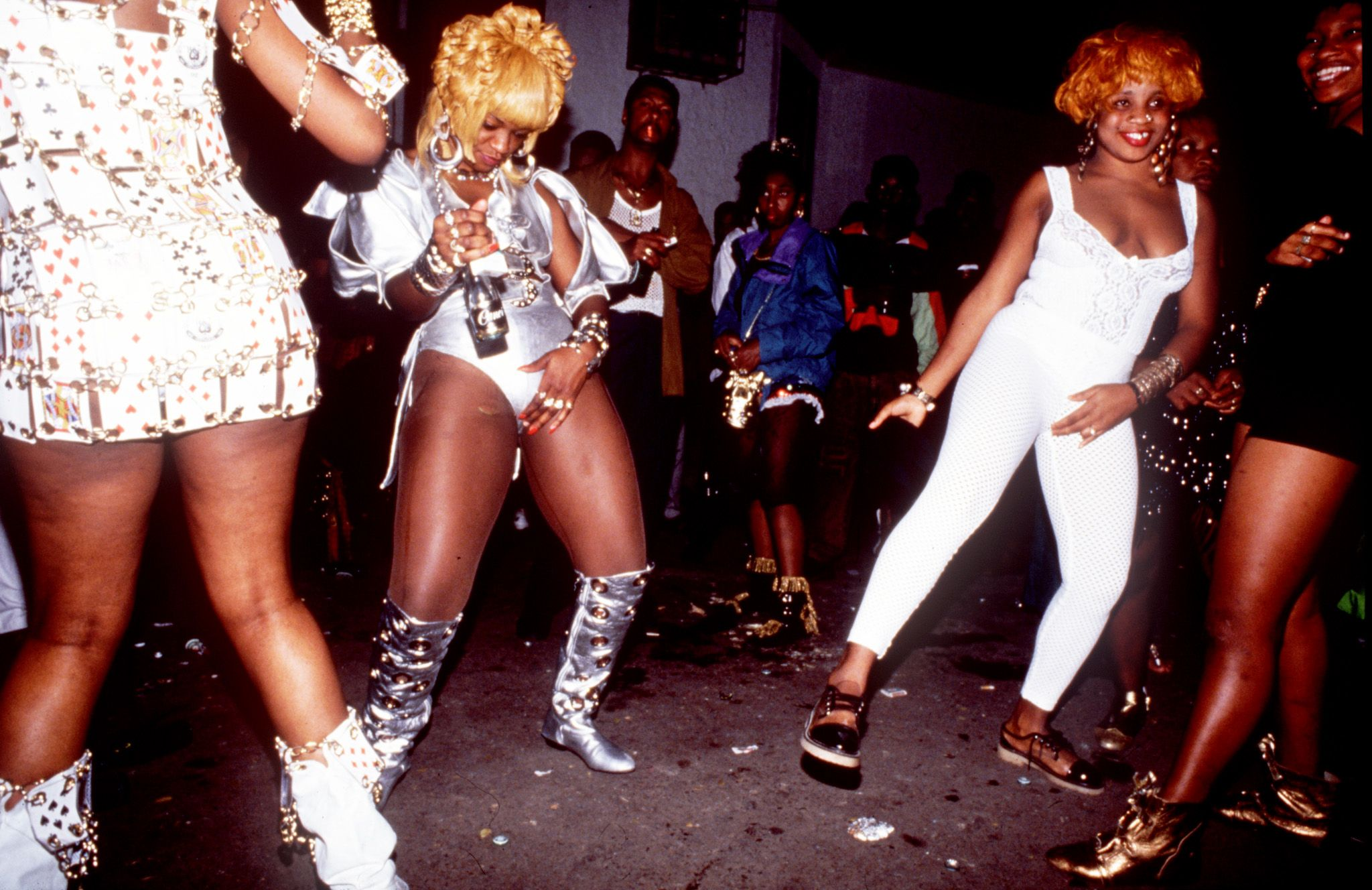 Dancehall Queens, House Of Leo, Kingston Jamaica, Circa 1993