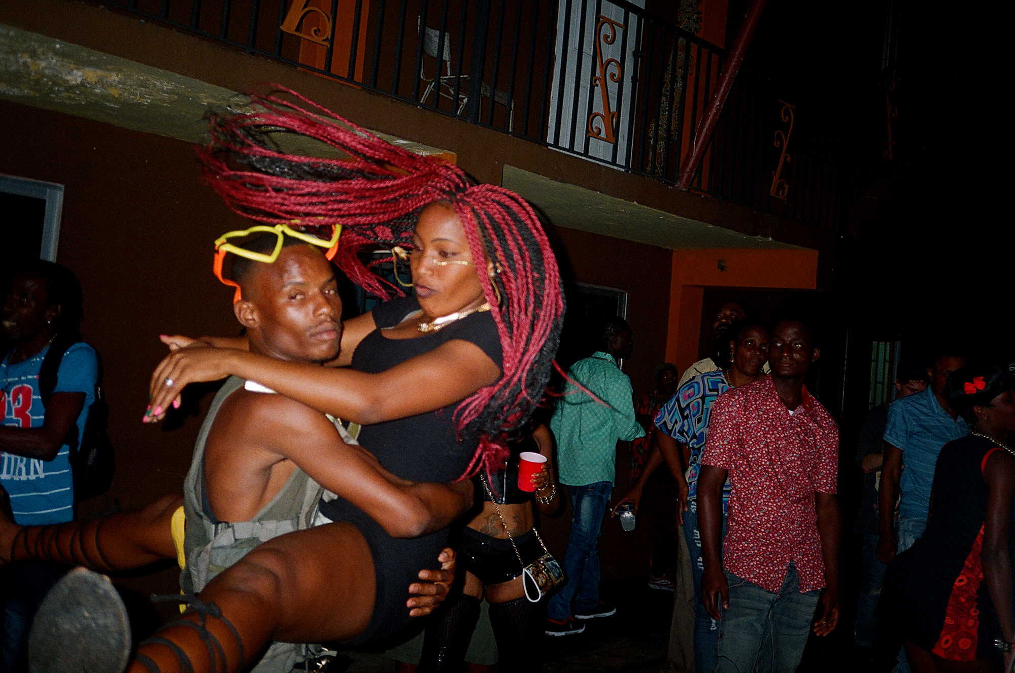 Kingston, jamaica party-goers