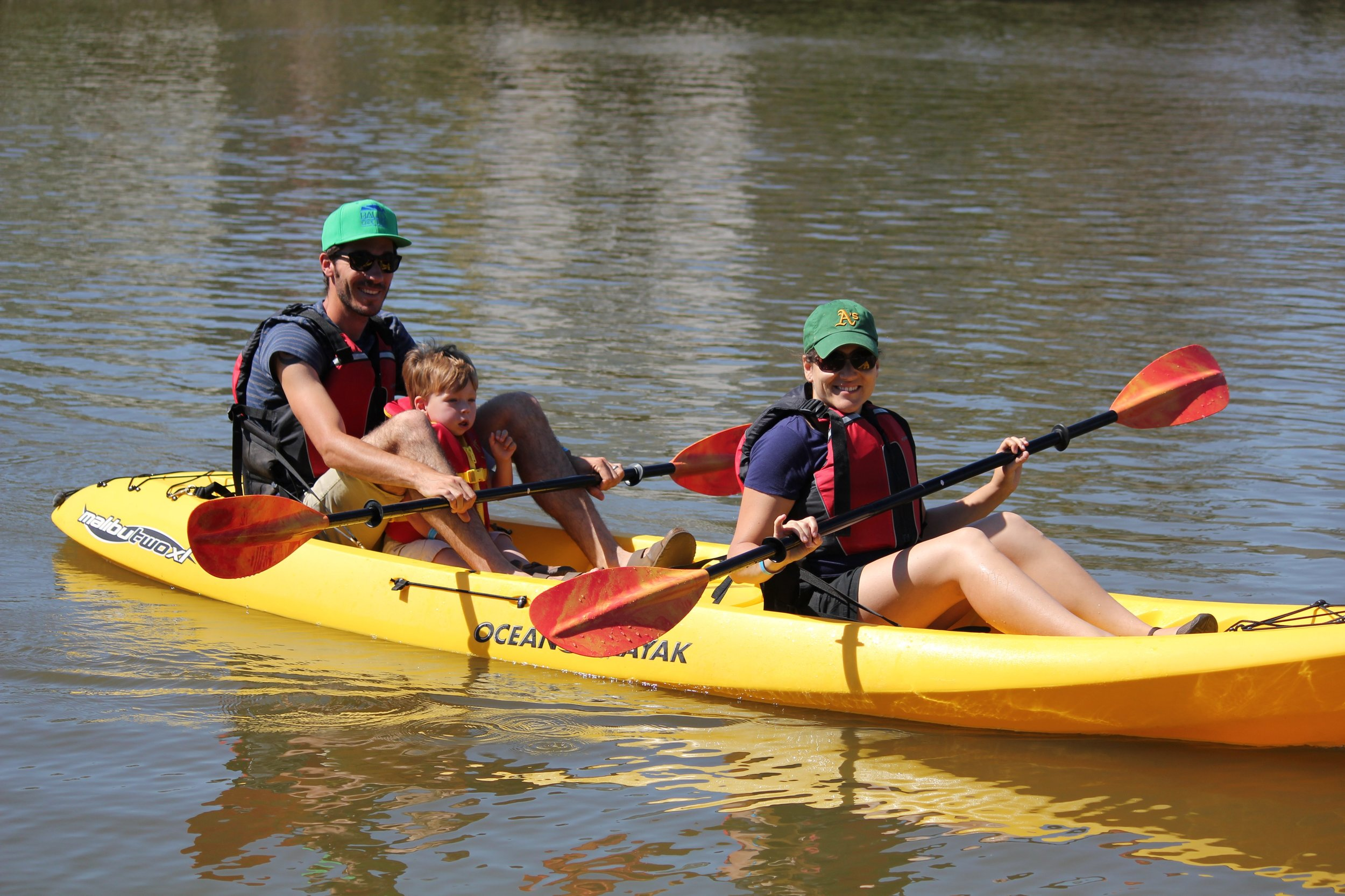 Kayaking family DOTR 2015.jpg