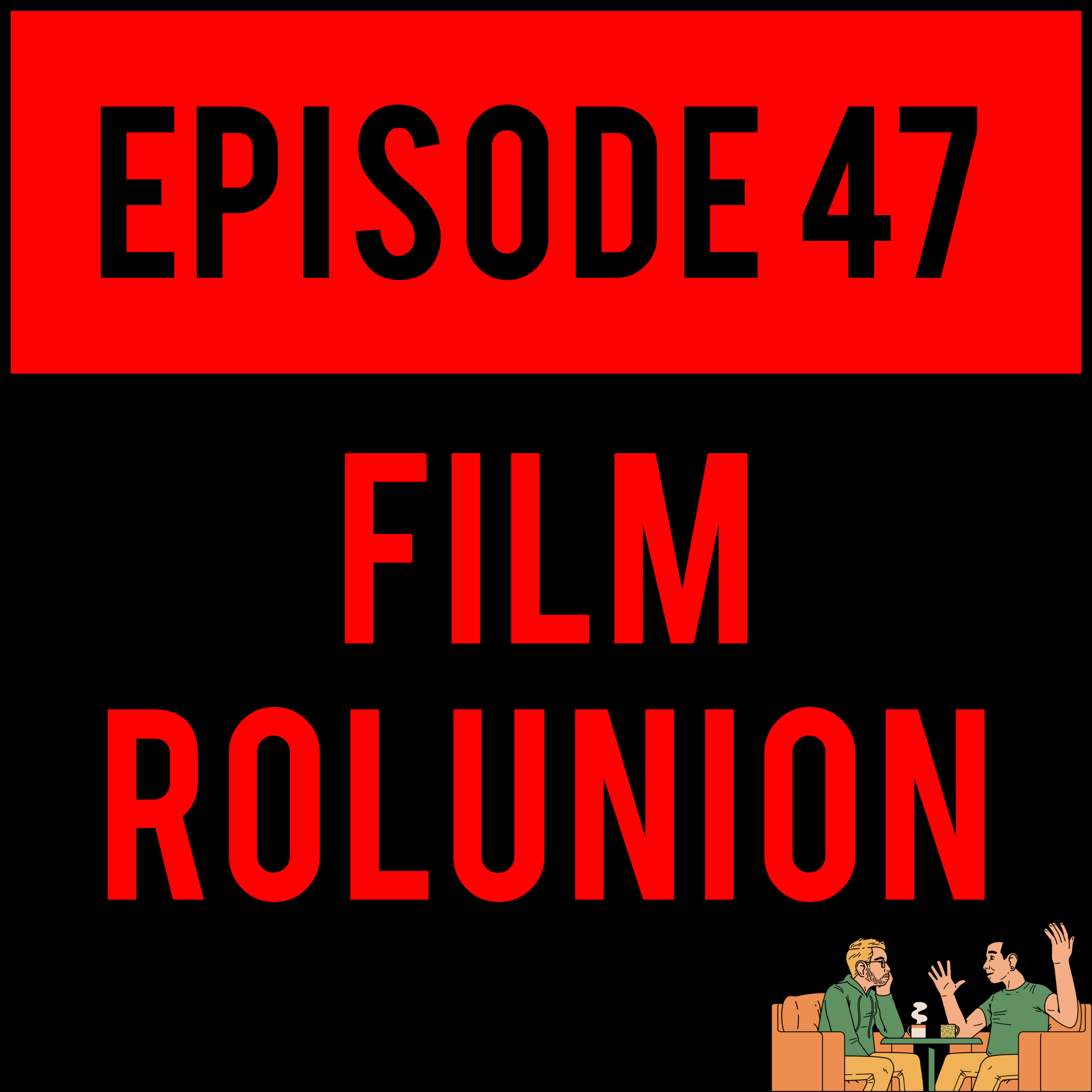 """EPISODE 47 - Those Film Hole Boyz are back and wetter than ever.Brandon Karliscouldn't go 18 seconds without a smoke break,Patrick Hunter calls actor Lakeith Stanfield """"Layketh"""",Robbie Clark is completely off his rocker about Logan (like he always is),Alex gets sloppy day drunk andJustyndoes a terrible job of hosting it all. It's literally everything you love about IDIOTSYNCRATIC andThe Film Role Podcast! FILM ROLUNION - EPISODE 47 is making podcasting worse again!"""