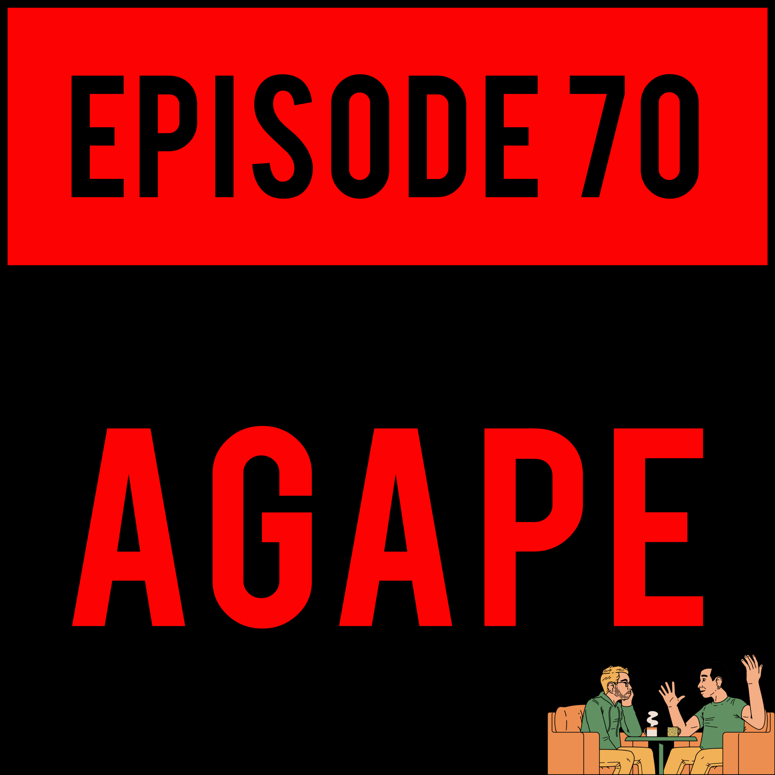 EPISODE 70 - Alex is Ant-Man, Amanda forgets how to use a mic and Justyn eats half a horse on AGAPE - EPISODE 70.