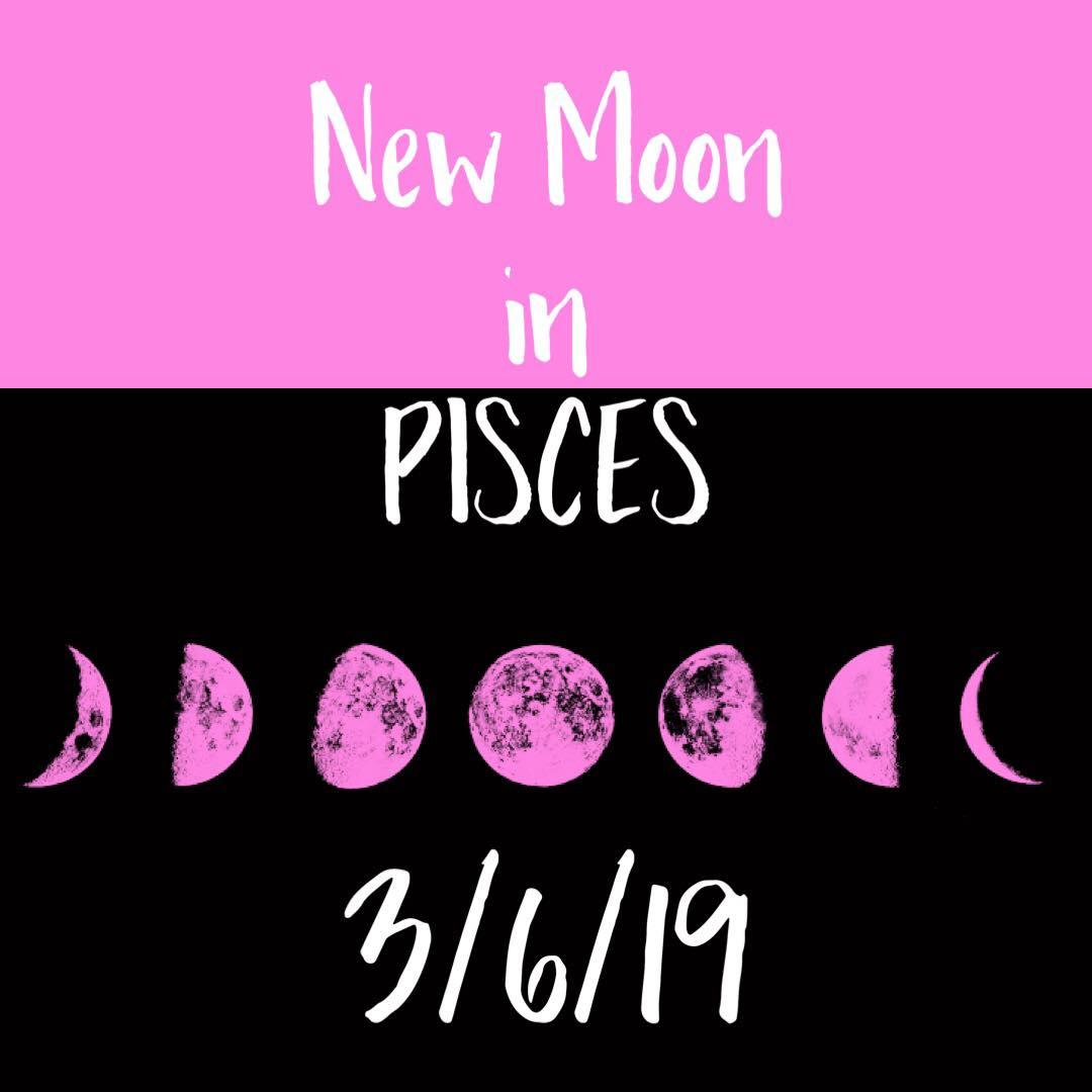 new moon in pisces leo aqua libra vibes astrology blog astrology report