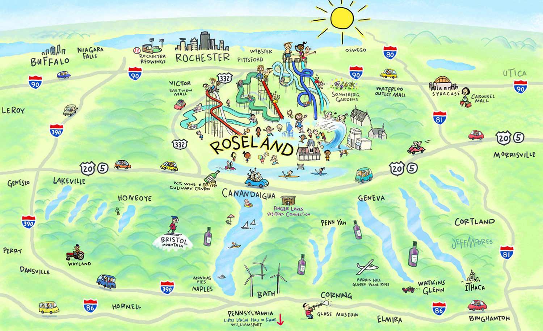 Amusement Map