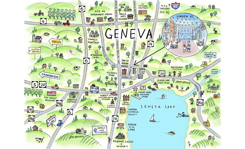 Geneva Map