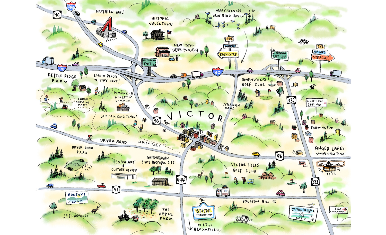 Victor Map