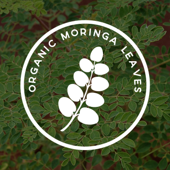 "Organic Moringa Leaves - Called ""the miracle plant,"" Moringa includes over 90 protective compounds and is proven to fight inflammation and various effects of malnutrition and aging"