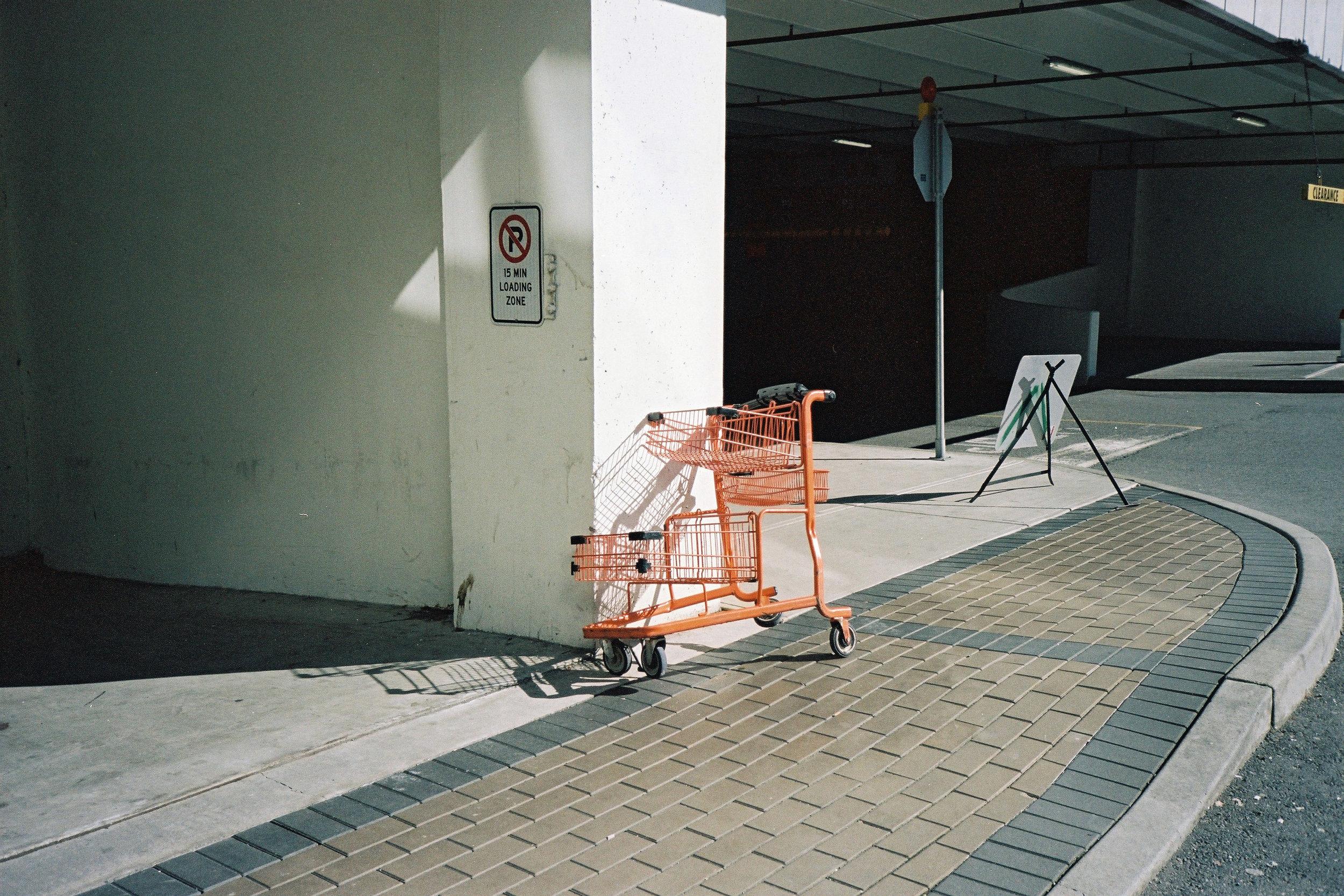 An empty trolley, West Vancouver © Tanya Clarke 2018