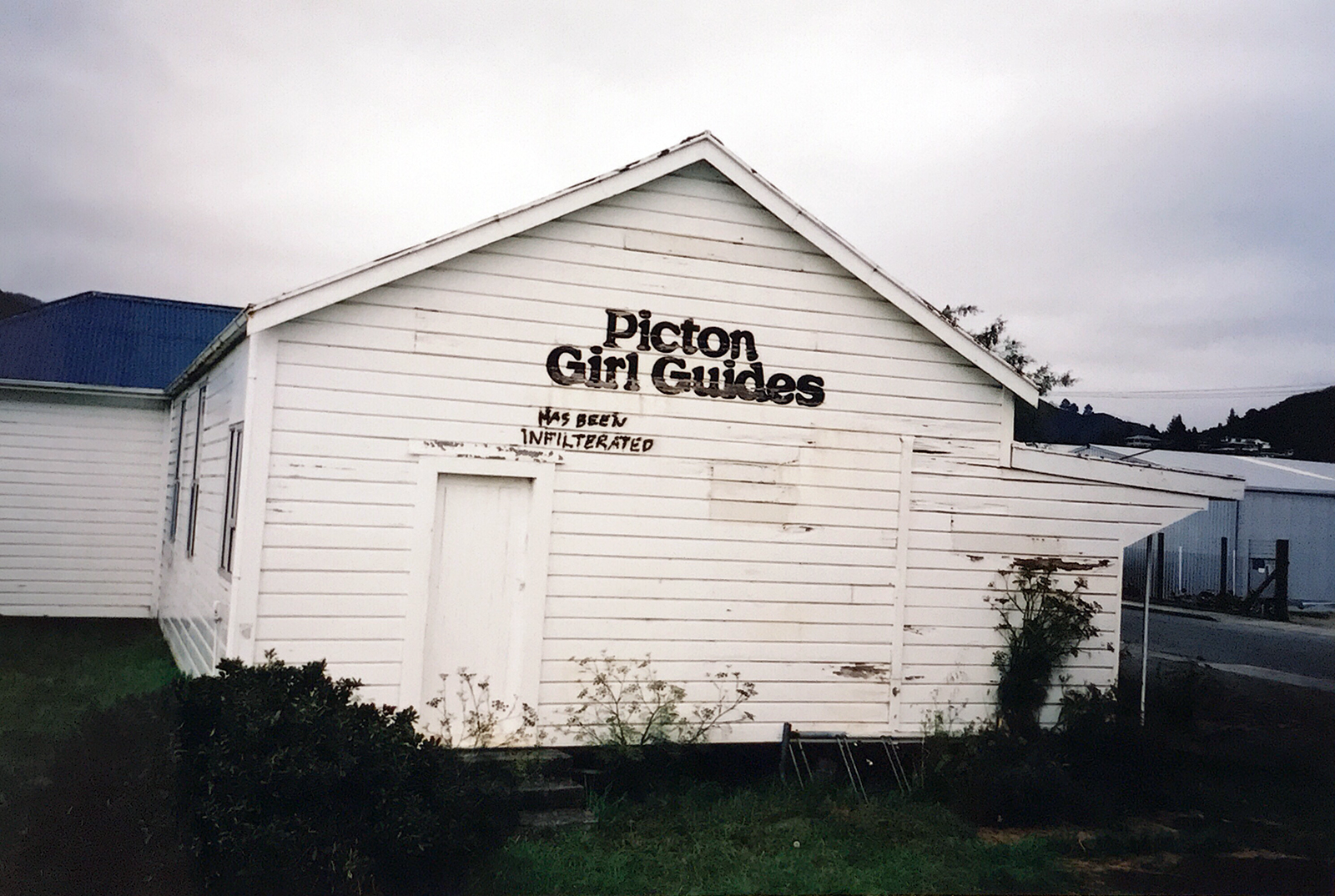 Picton Girl Guides Has Been Infilterated, Picton, New Zealand 2003 © Tanya Clarke