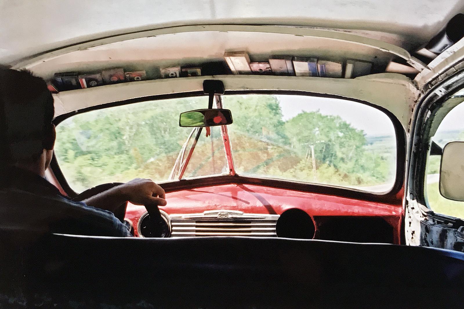In a cab, Cuba 2000 © Tanya Clarke