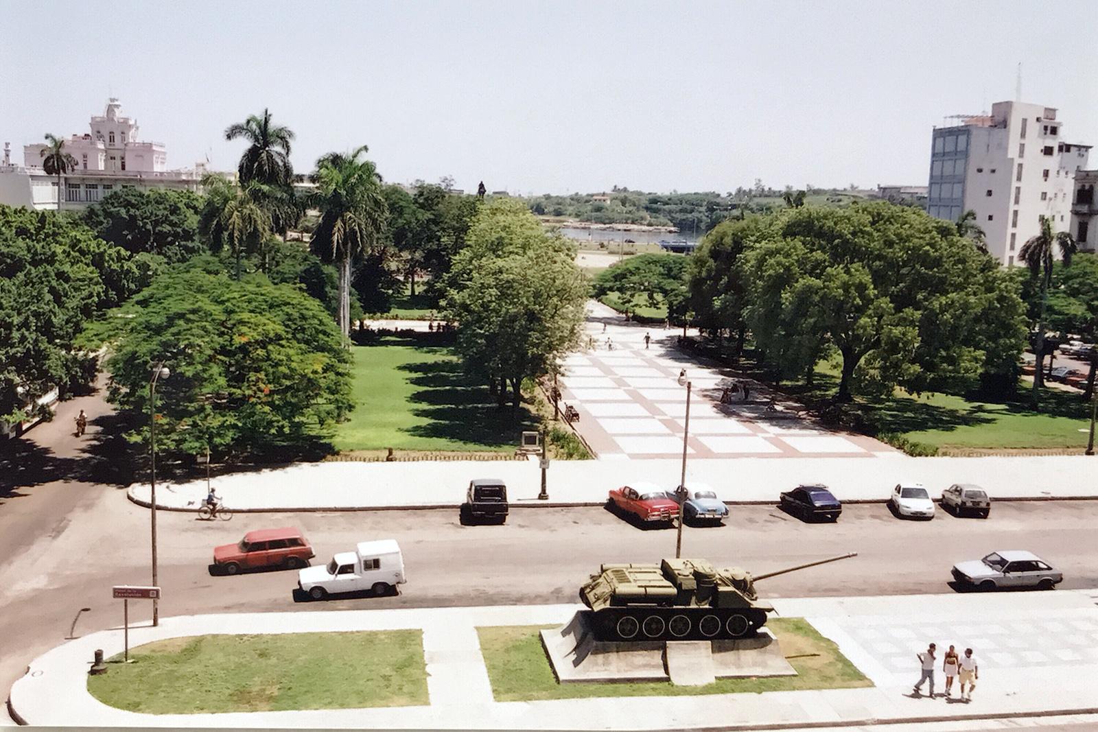 View over Havana, Cuba 2000 © Tanya Clarke