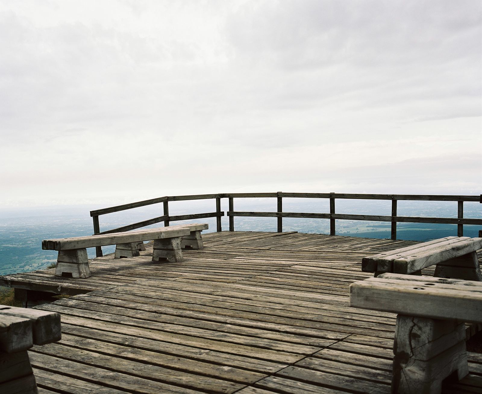 Viewpoint over Massif Central, France 2012 © Tanya Clarke