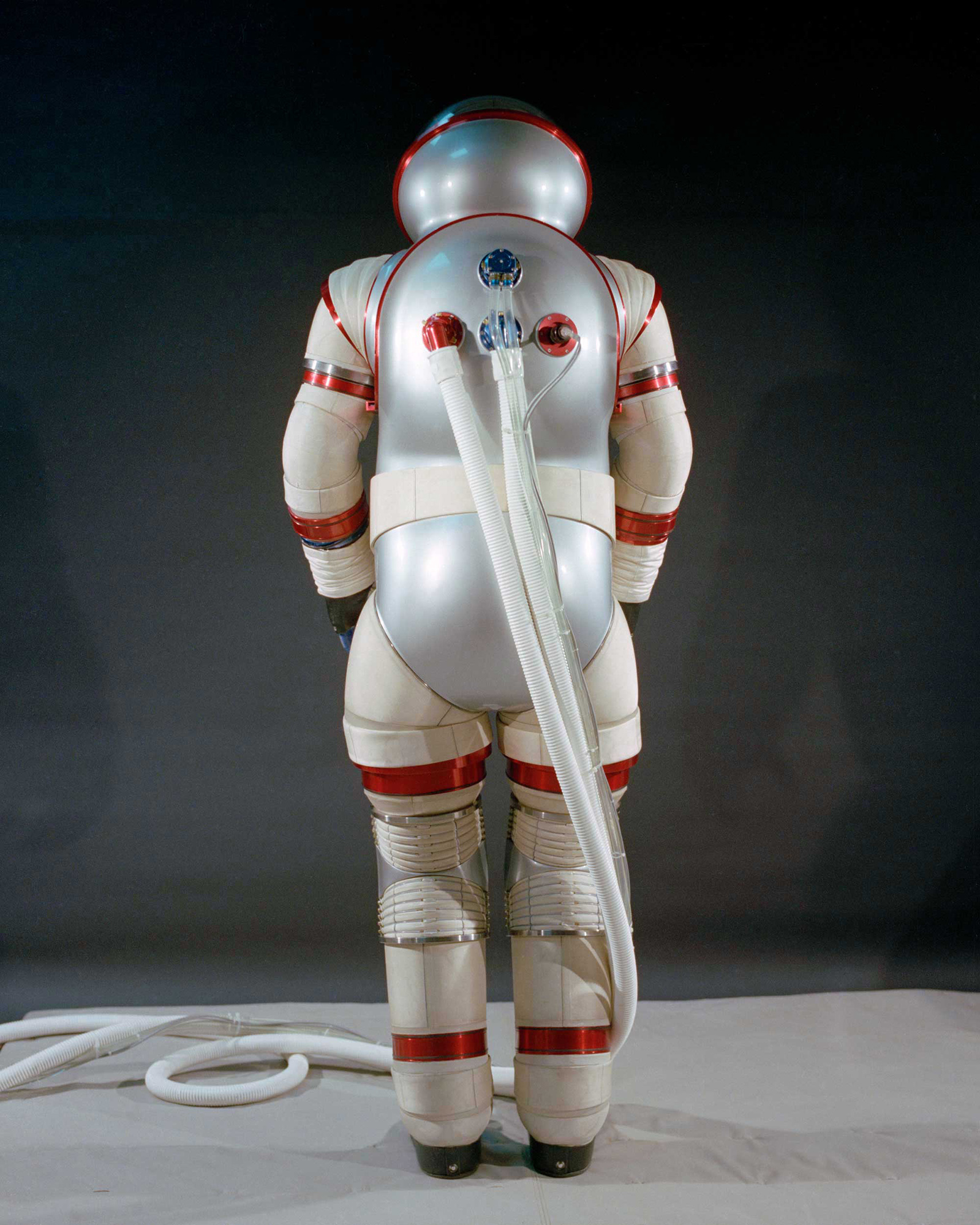 This is the third AX (Ames Experimental) hard suit developed by NASA, following two between 1964 and 1968. California's Ames Research Center (ARC), founded in 1939, is a primary NASA research center. Read more    here   .