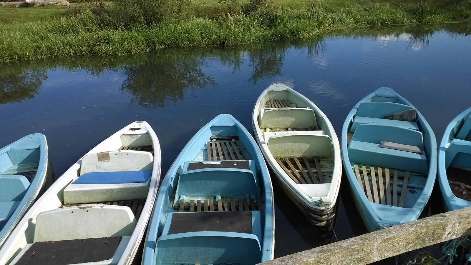 River boats in Sussex, UK 2015. Photograph by Tanya Clarke