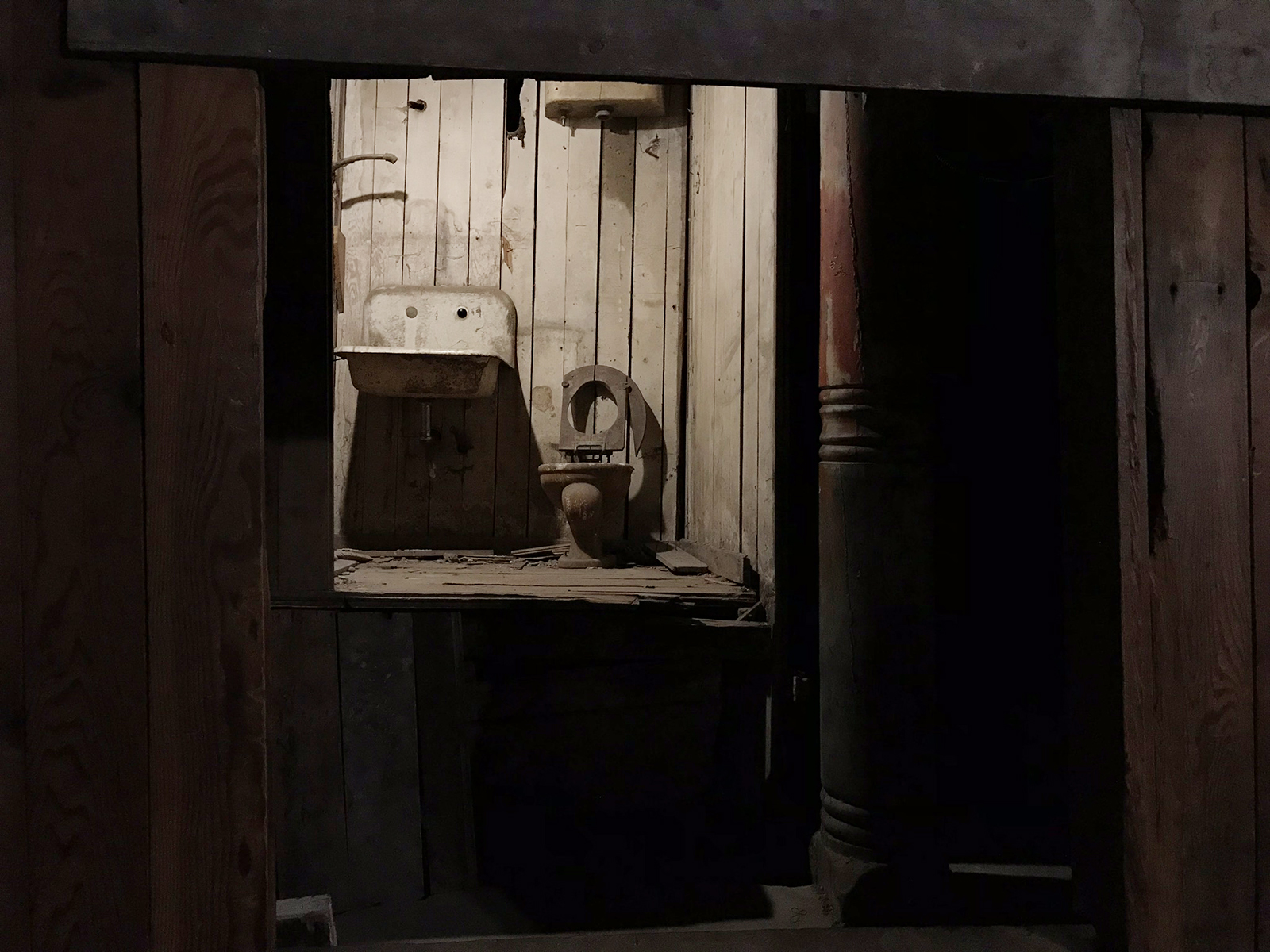 Seattle Underground Tour, Pioneer Square, USA, 2018. Photograph by Tanya Clarke