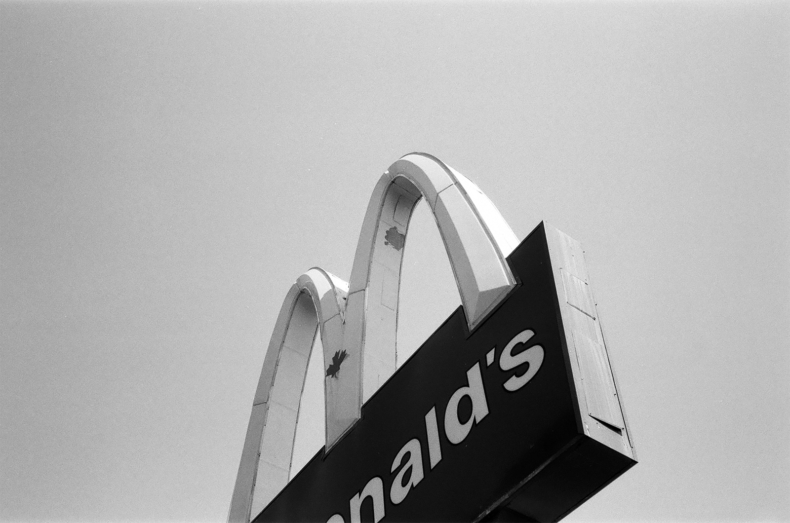 The Golden Arches of Macdonalds, Vancouver, Canada 2018