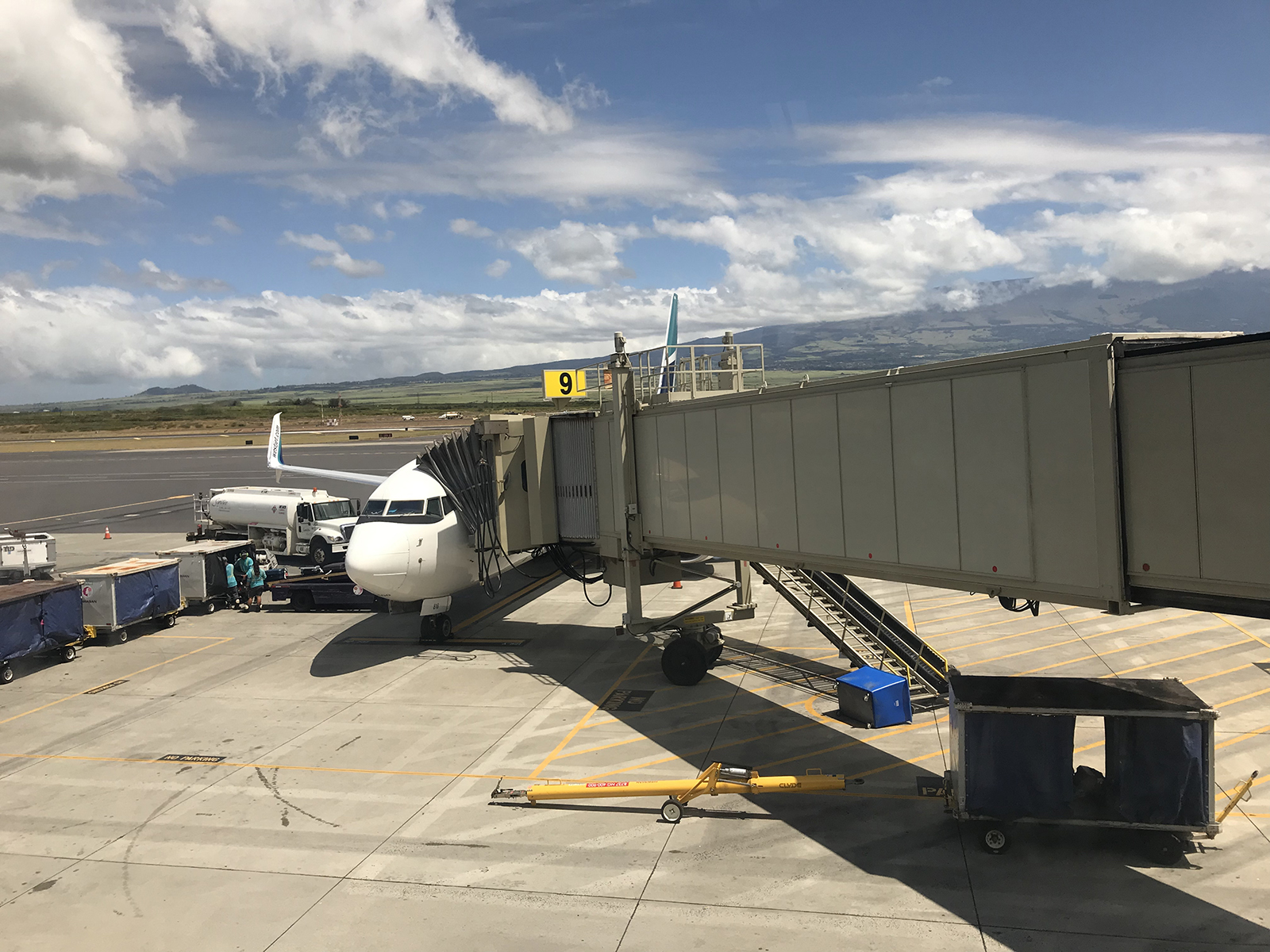Kahalui airport, Maui 2019