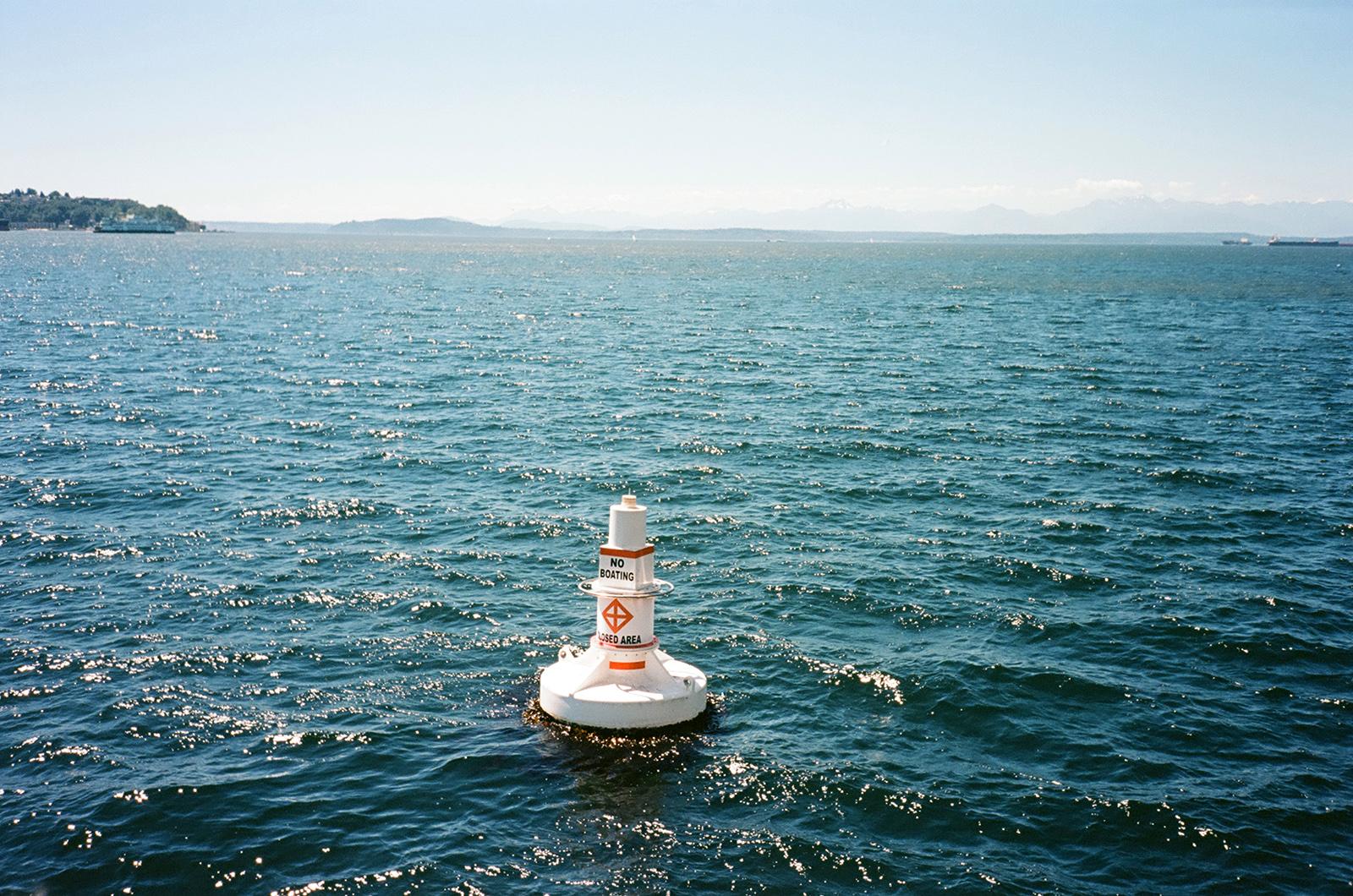 Out at sea, 2018