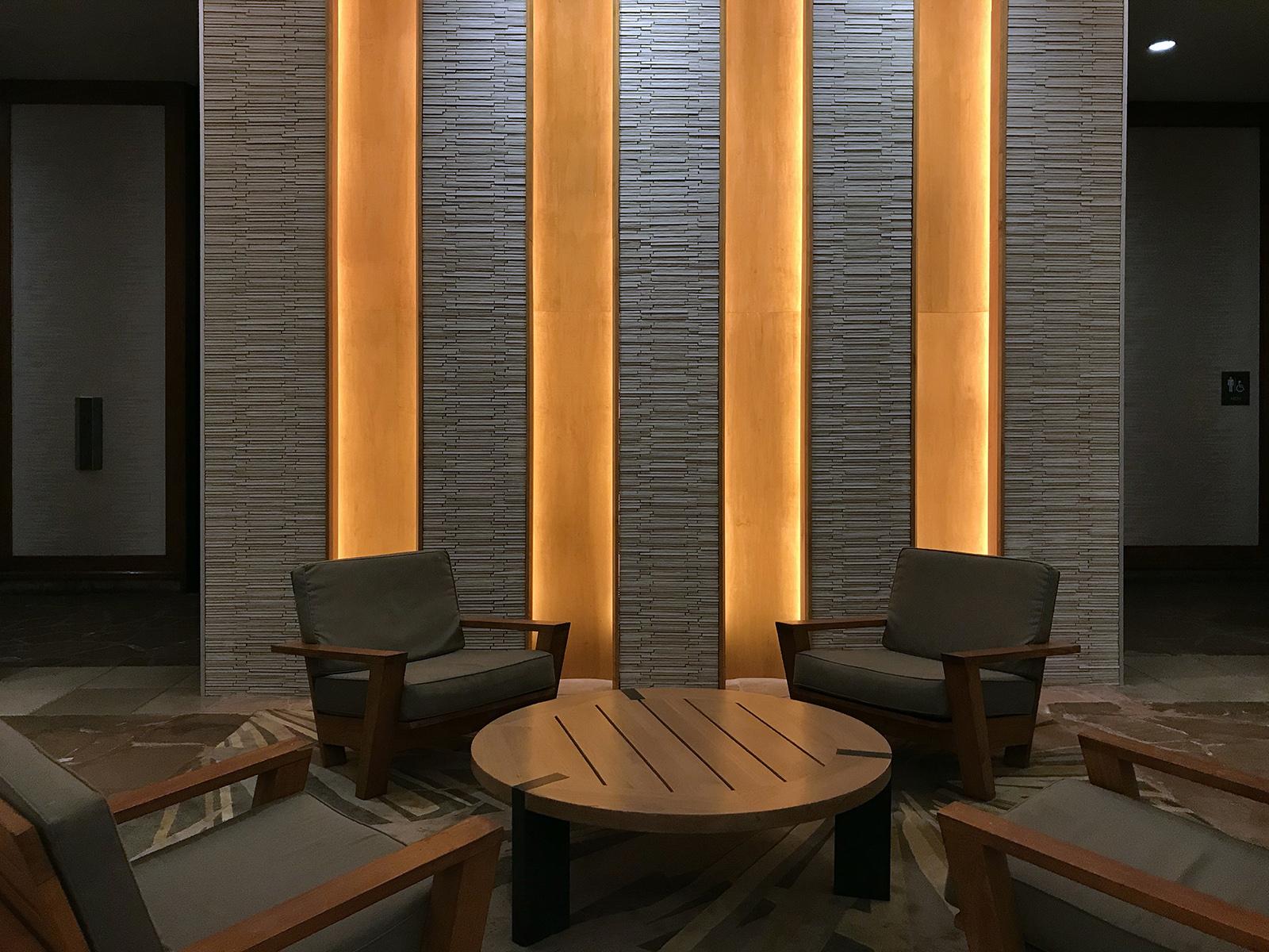 Hotel foyer, Hyatt, Maui 2019