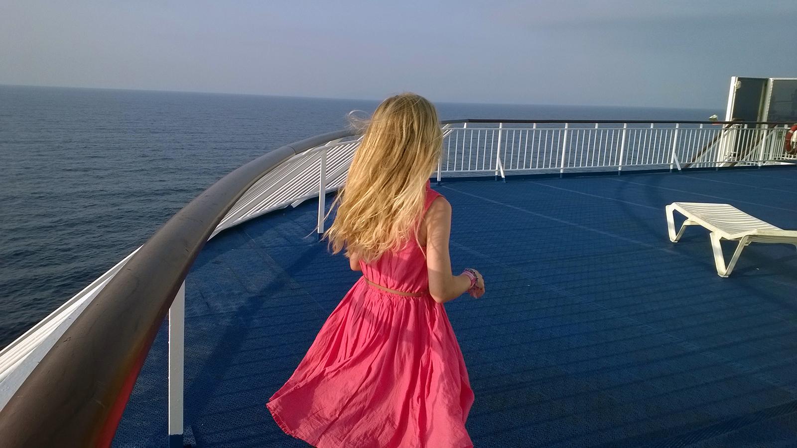 On the ferry to Majorca, circa 2013