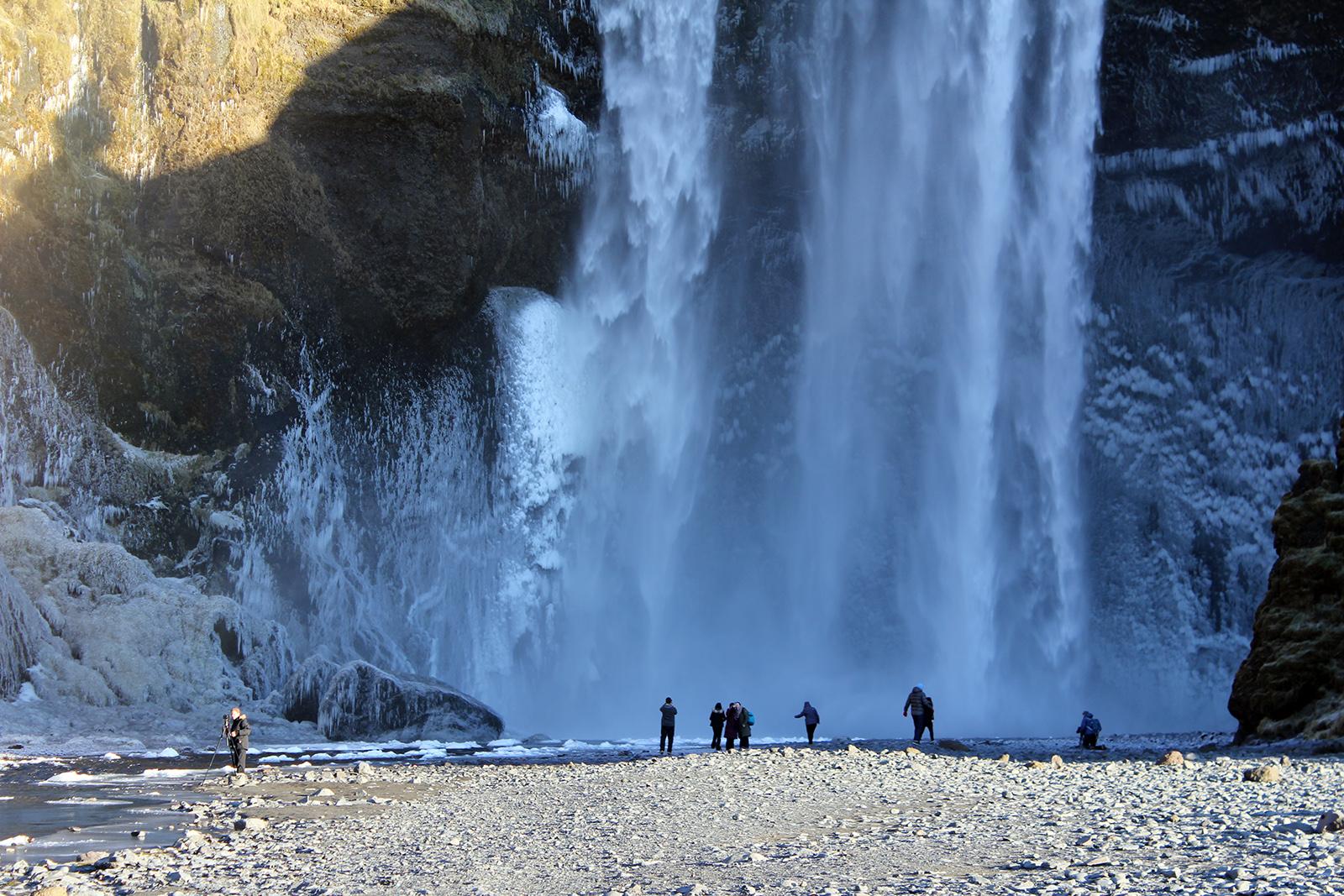Seljalandsfoss waterfall, Iceland 2014