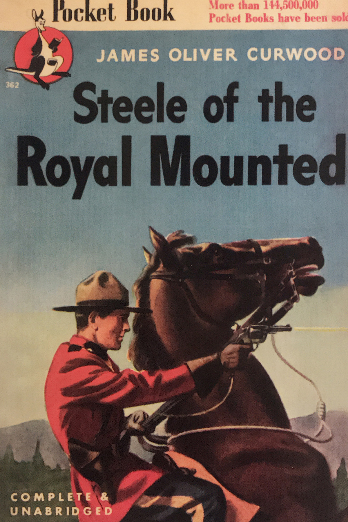 Steele of the Royal Mounted by James Oliver Curwood - book cover