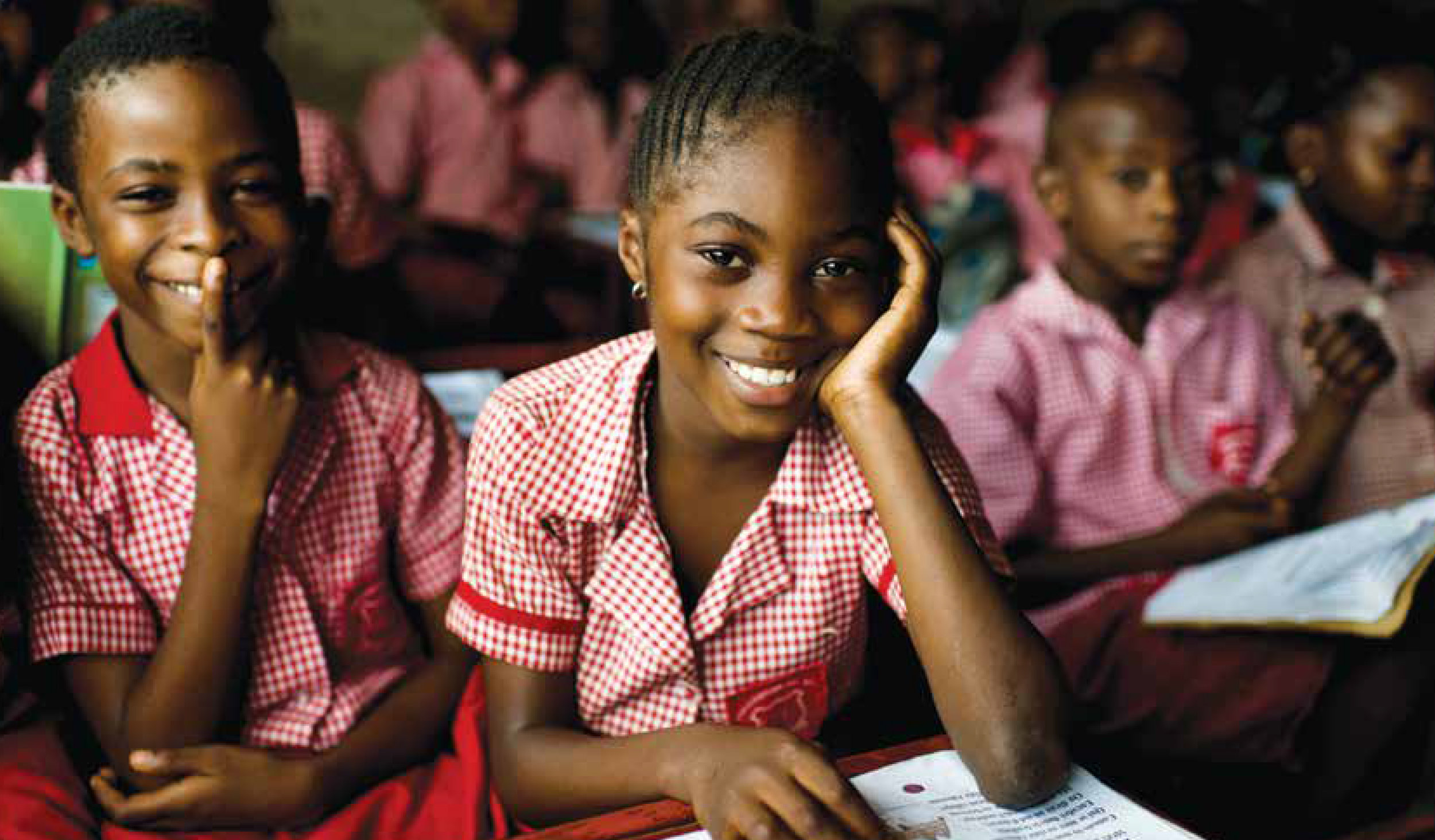 20% of Girls - JUST 1 IN 5 GIRLS WILL RECEIVE AN EDUCATION IN SIERRA LEONE IN 2019. IN UGANDA, IT IS 4 IN 5. ONLY 16% OF GIRLS COMPLETE HIGH SCHOOL, YET A WOMAN'S INCOME WILL INCREASE BY 10-25% FOR EVERY YEAR OF SCHOOL SHE RECEIVES.