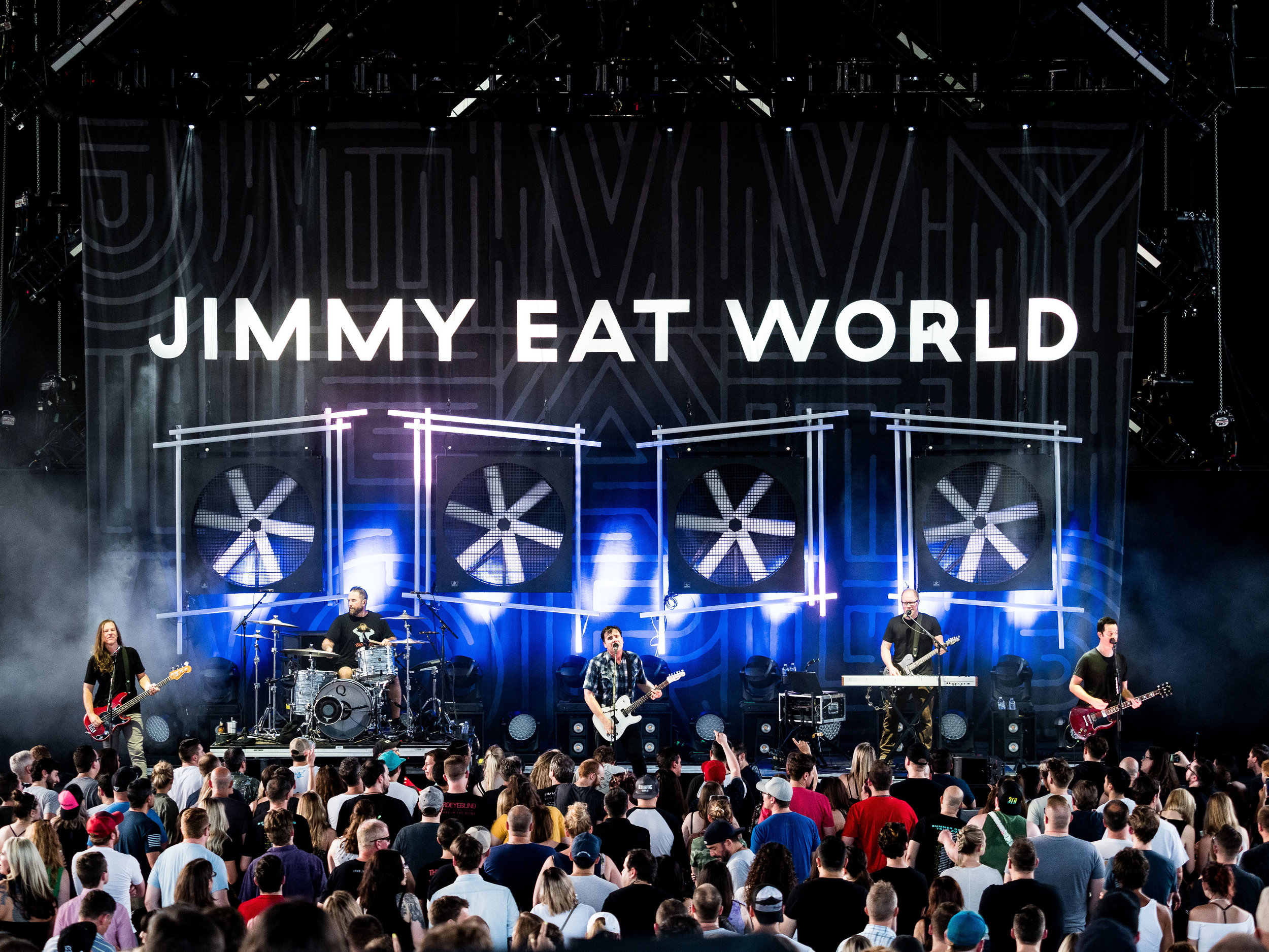 Jimmy Eat World     // 2019-06-28 //   Michigan Lottery Amphitheatre At Freedom Hill    -  Sterling Heights, MI // Photos by  Brooke Elizabeth