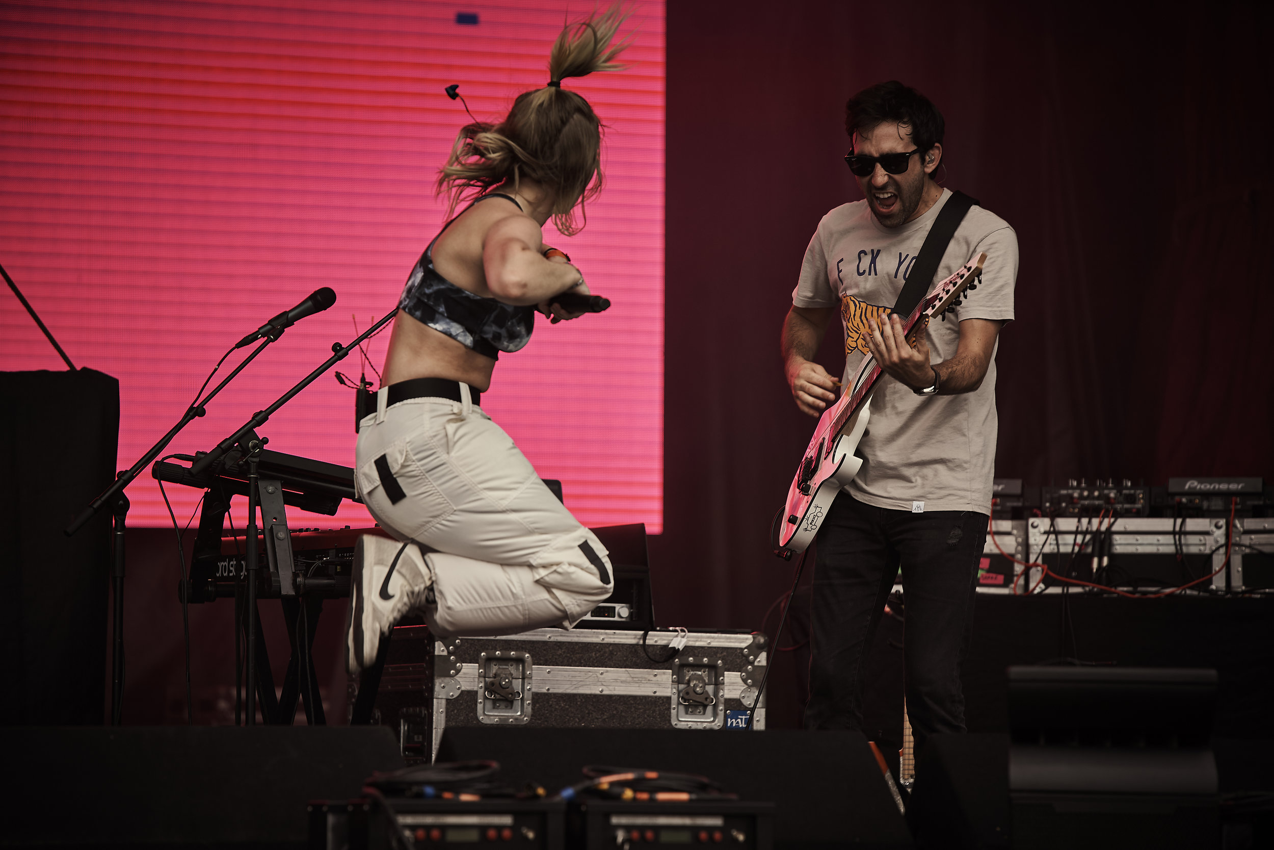 Carlie Hanson     // 2019-06-28 //   Common Ground Music Festival     at    Adado Riverfront Park  - Lansing, MI // Photos by  Attila Hardy