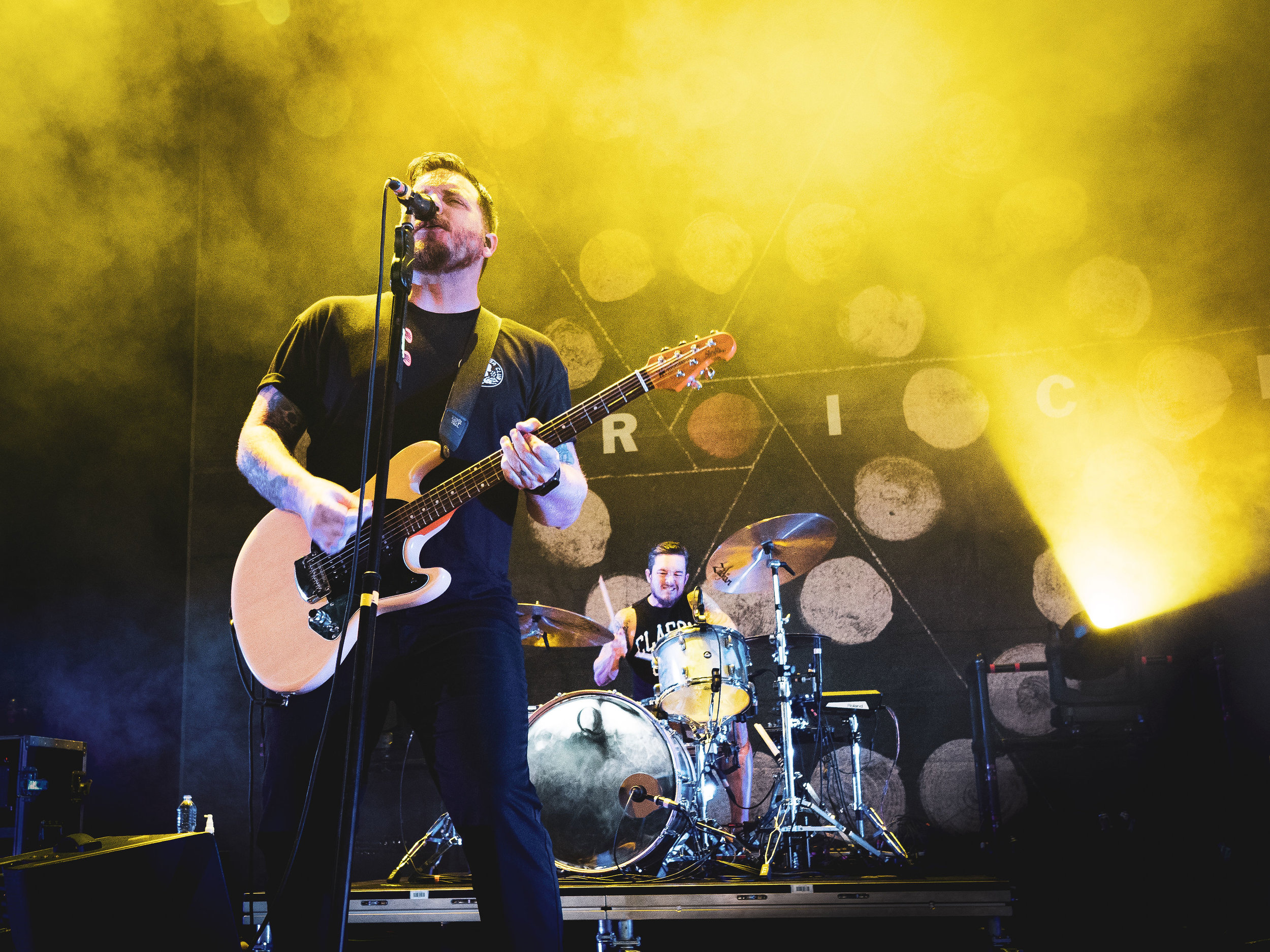 Thrice     //   Rockstar Energy DISRUPT Festival   // 2019-07-10 //   DTE Energy Music Theatre    -  Clarkston, MI // Photos by  Brooke Elizabeth