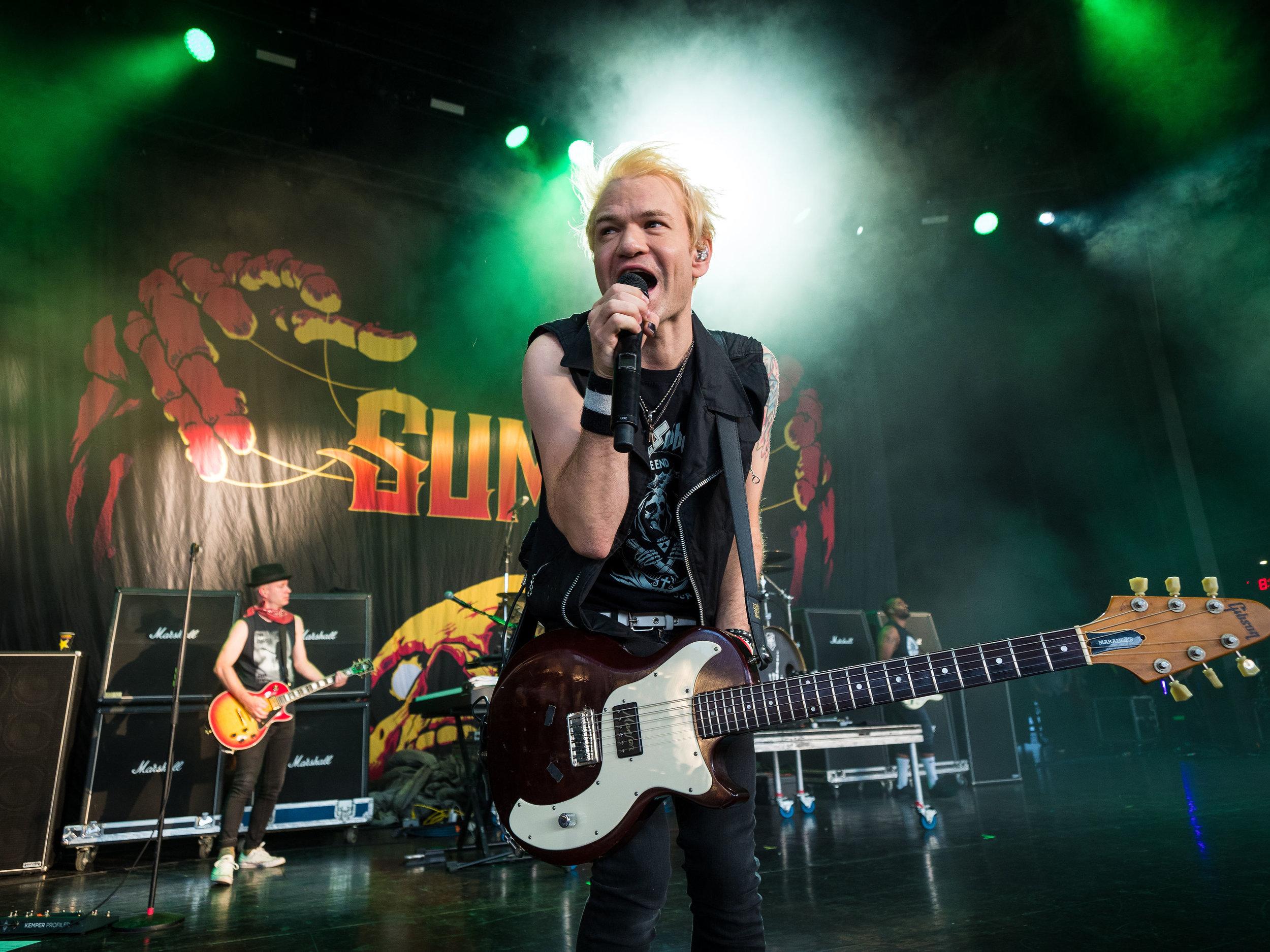 Sum 41     //   Rockstar Energy DISRUPT Festival   // 2019-07-10 //   DTE Energy Music Theatre    -  Clarkston, MI // Photos by  Brooke Elizabeth
