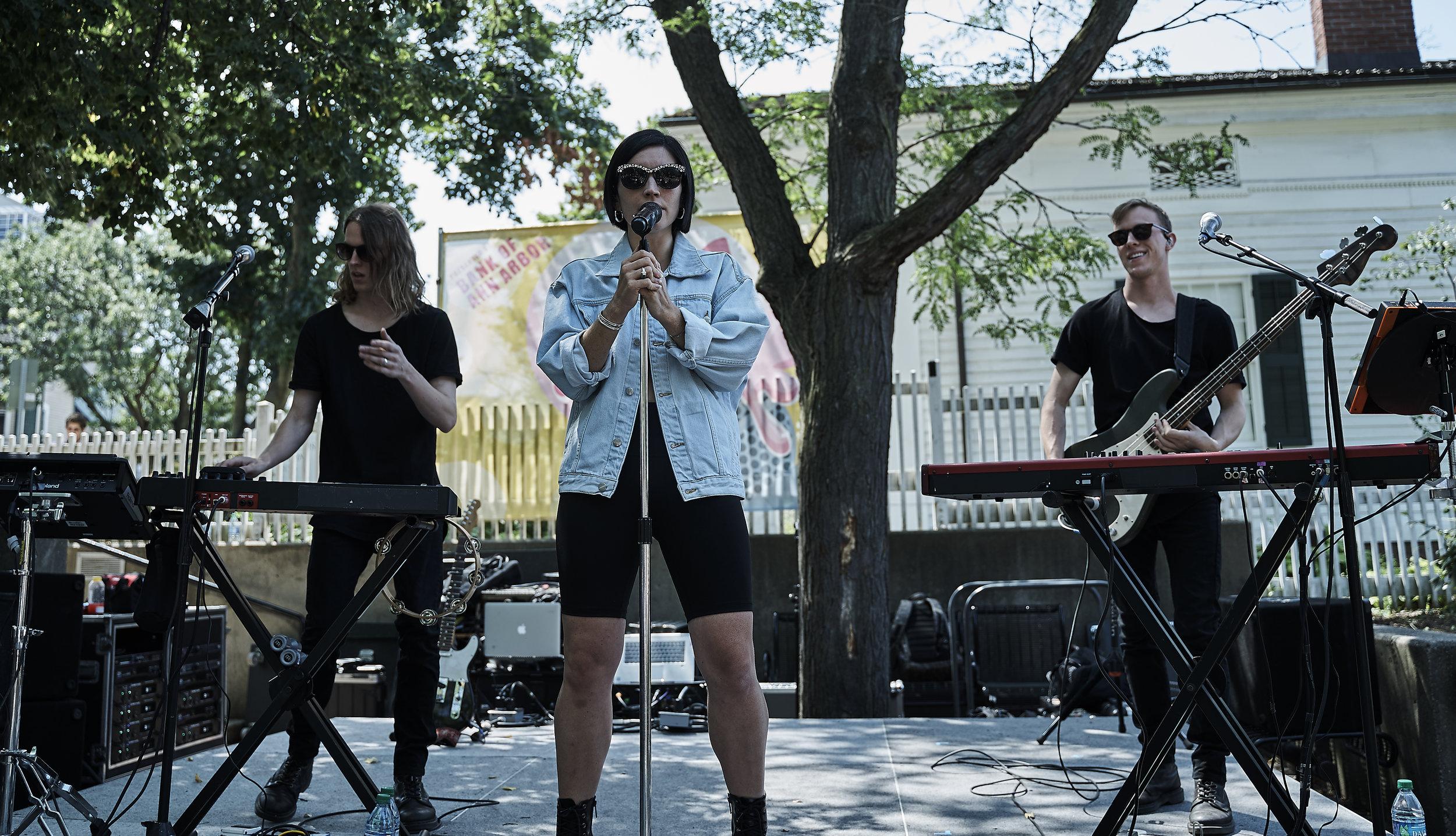 SHAED   // 2019-08-01 //   Sonic Lunch   -   Liberty Plaza   - Ann Arbor, MI // Photos by  Attila Hardy