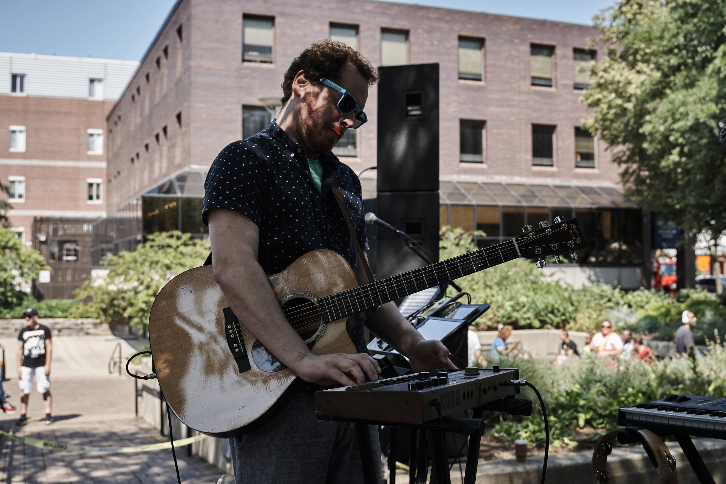 Dave Menzo     // 2019-08-01 //   Sonic Lunch   -   Liberty Plaza   - Ann Arbor, MI // Photos by  Attila Hardy