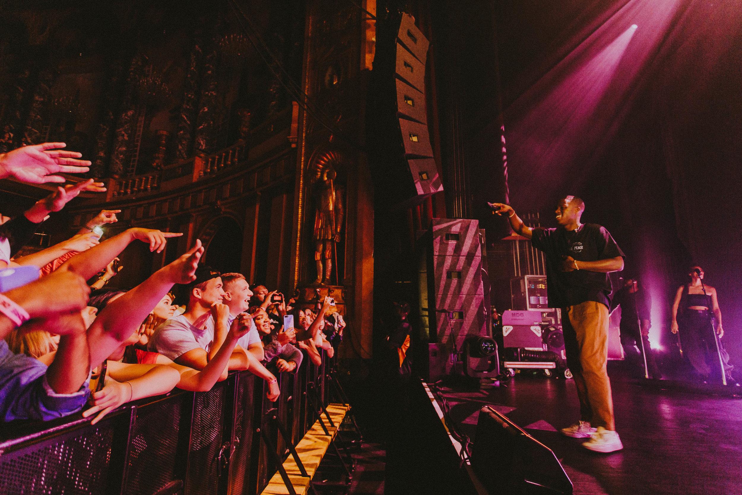 Daniel Caesar       // 2019-08-11 //   The Fillmore    -  Detroit, MI // Photos by  PJ  Farinas